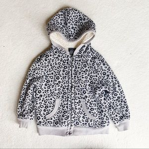 Snow Leopard Thick Fleece (4T)